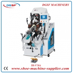 9 Pincers Computerized Automatic Toe Lasting Machine N738A