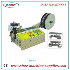 Big screen hot and cold strap cutting machine